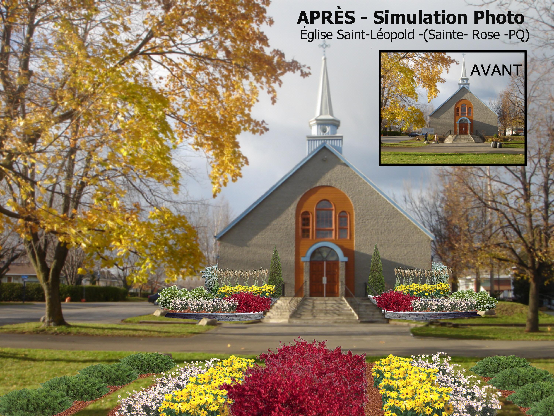 02-07-Simulation AVANT-Église St-LÉOPOLD